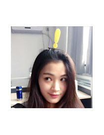 Fashion Yellow Exclamation Point Decorated Color Matching Simple Hair Clip