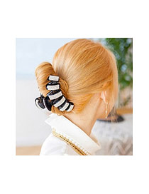 Fashion Black Diamond Decorated Irregular Shape Hair Claw