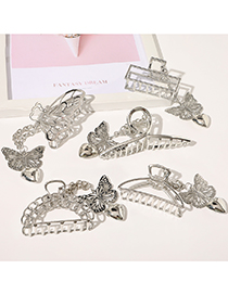 Fashion Butterfly Butterfly Pendant Alloy Geometric Clamp