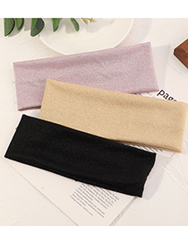 Fashion Pink Yoga Stretch Sports Cotton Sweat-absorbent Headband