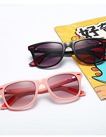 Fashion Royal Blue/gradient Gray Mi Nail Childrens Sunglasses
