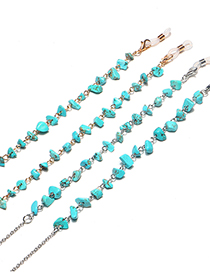 Fashion Silver Color Chain Turquoise Not Easy To Fade Glasses Chain