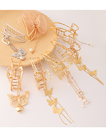 Fashion 1# Metal Butterfly Catch