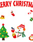 Fashion Color Xh6251 Santa Claus Self-adhesive Seamless Wall Paper
