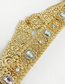 Fashion Gold Alloy Diamond Belt
