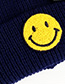 Fashion Navy Smile Knitted Hats For Children