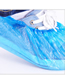 Fashion Blue Disposable Plastic Cleaning Shoe Cover