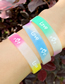 Fashion Mixed Colors (from 10 Batches) Love Silicone Luminous Sports Running Bracelet