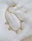 Fashion 5 Copper Inlaid Zircon Heart Necklace