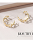 Fashion Gold Color Little Star Earrings