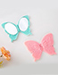 Fashion Pink Butterfly Shape Decorated Mirror