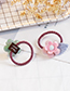 Lovely Pink Heart Shape Decorated Child Hair Band(1pc)