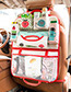 Fashion Beige+red Cartoon Patterns Decorated Storage Bag