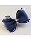 Fashion Claret Red Bowknot Shape Decorated Hair Clip