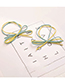 Fashion Dark Green Bowknot Shape Decorated Hair Band (20 Pcs )