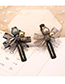Fashion Gray Diamond&pearl Decorated Hair Clip