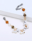 Fashion White Irregular Shape Decorated Bracelet