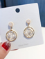 Fashion Gold 925 Silver Needle Round Dreamcatcher Stud Earrings