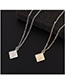 Fashion 14k Gold Necklace - The Other Side Of The Cloud
