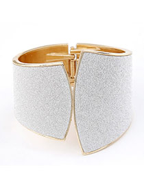 Jockey White Punk Alloy Fashion Bangles