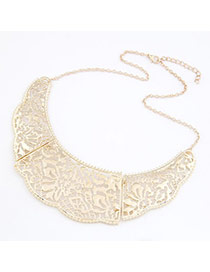 Torrid Gold Color Hollow Out Fake Collar