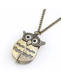 Diabetic Bronze Owl Wings Alloy Chains