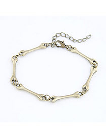 Inspired Bronze Bones Design Alloy Korean Fashion Bracelet