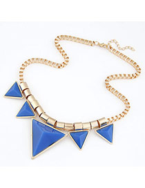 Famale Blue Triangle