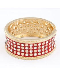 Cranes Red Luxury Elegant Simple Alloy Fashion Bangles