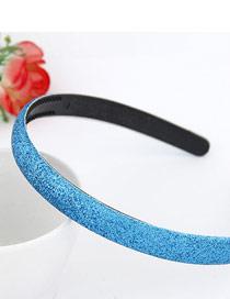 Elegant Sea Blue Blink Abrazine Design Plastic Hair band hair hoop