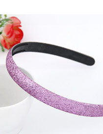 Personaliz Purple Blink Abrazine Design Plastic Hair band hair hoop