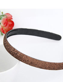 Genuine Coffee Blink Abrazine Design Plastic Hair band hair hoop