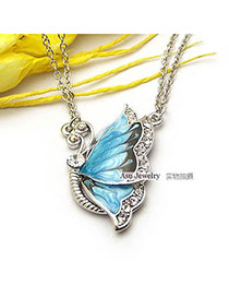 Pendant Skyblue Butterfly