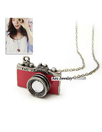 Promotiona Red Camera Shape Pendant