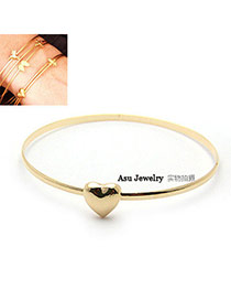 Limited Gold Color Heart