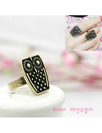 Fashion Bronze Owl Alloy Fashion Rings