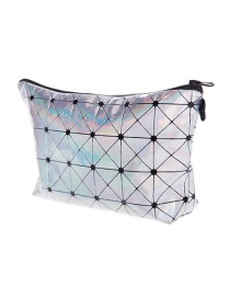 Fashion Multi-color Graffiti Pattern Decorated Waterproof Cosmetic Bag