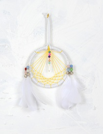 Bohemia White Hollow Out Decorated Aeolian Bells