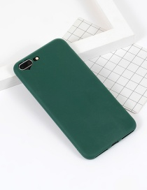 Fashion Green Heart Shape Decorated Simple Iphone7plus Case