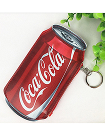 Fashion Red Cocacola Decorated Coin Purse