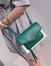Elegant Green Tassel Decoratecd Bag