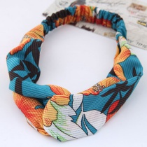Fashion Multi-color Bamboo Pattern Decorated Hair Band