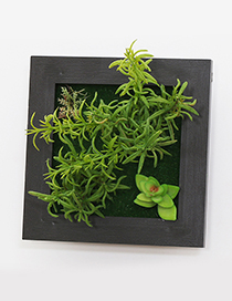 Fashion Green Simulation Tree Decorated Wall Hanging