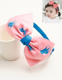 Cute Pink Bowknot Shape Decorated Hair Clip
