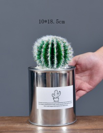 Lovely Green Artificial Cactus Decorated Ornaments