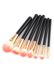 Fashion Pink Color-macthing Decorated Brushes