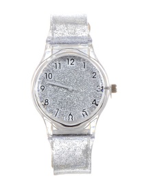 Fashion Silver Color Sequins Decorated Watch