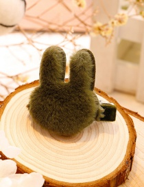 Lovely Green Rabbit Shape Decorated Hairpin