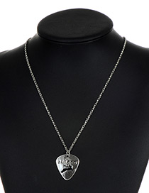 Fashion Silver Color Animal Pattern Decorated Necklace