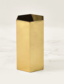 Luxury Gold Color Pure Color Decorated Storage Pen Holder